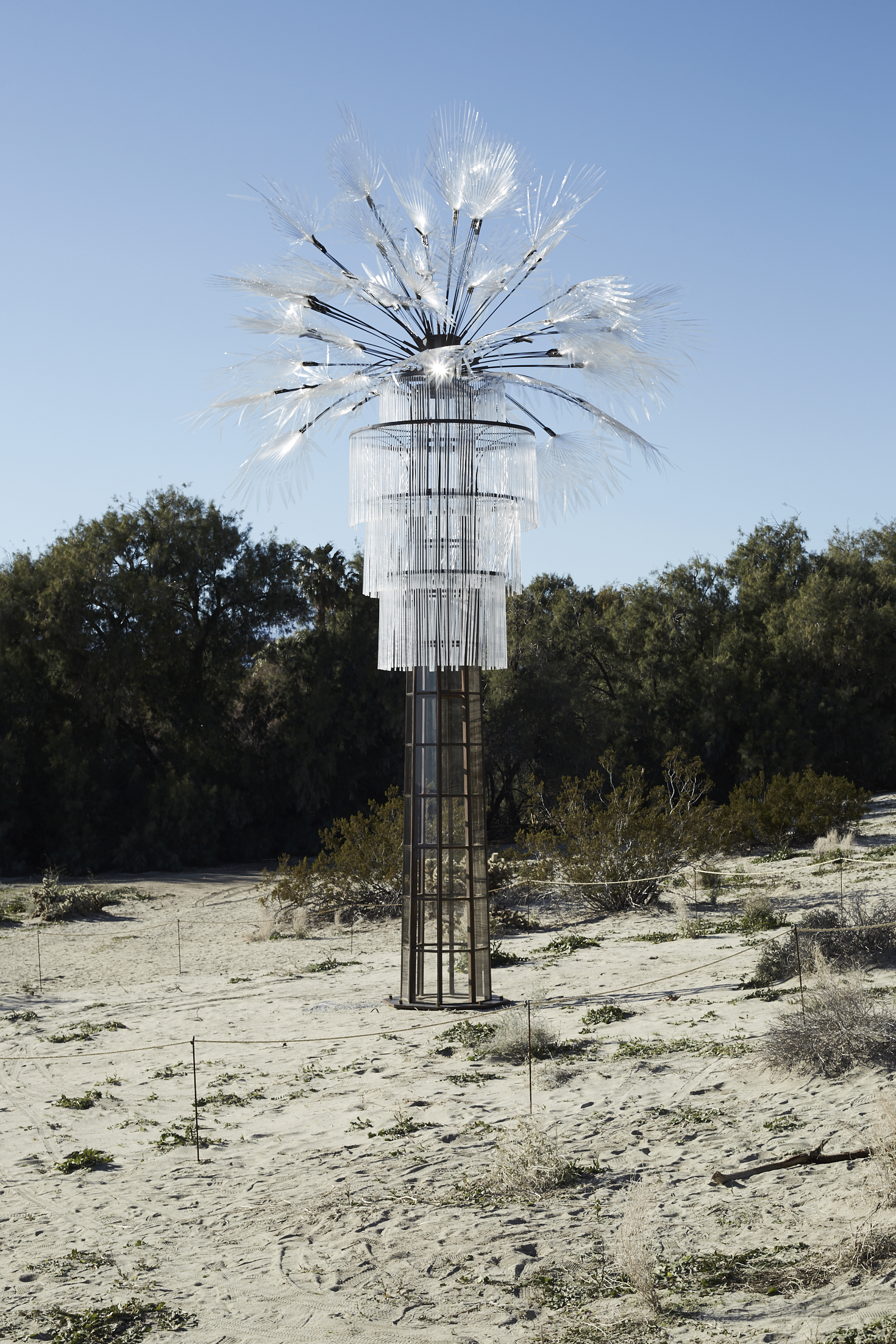 Kathleen Ryan / Ghost Palm, as part of Desert X 2019
