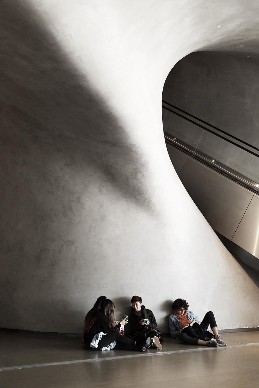 Interior view The Broad Museum - Photo Thomas Bollmann