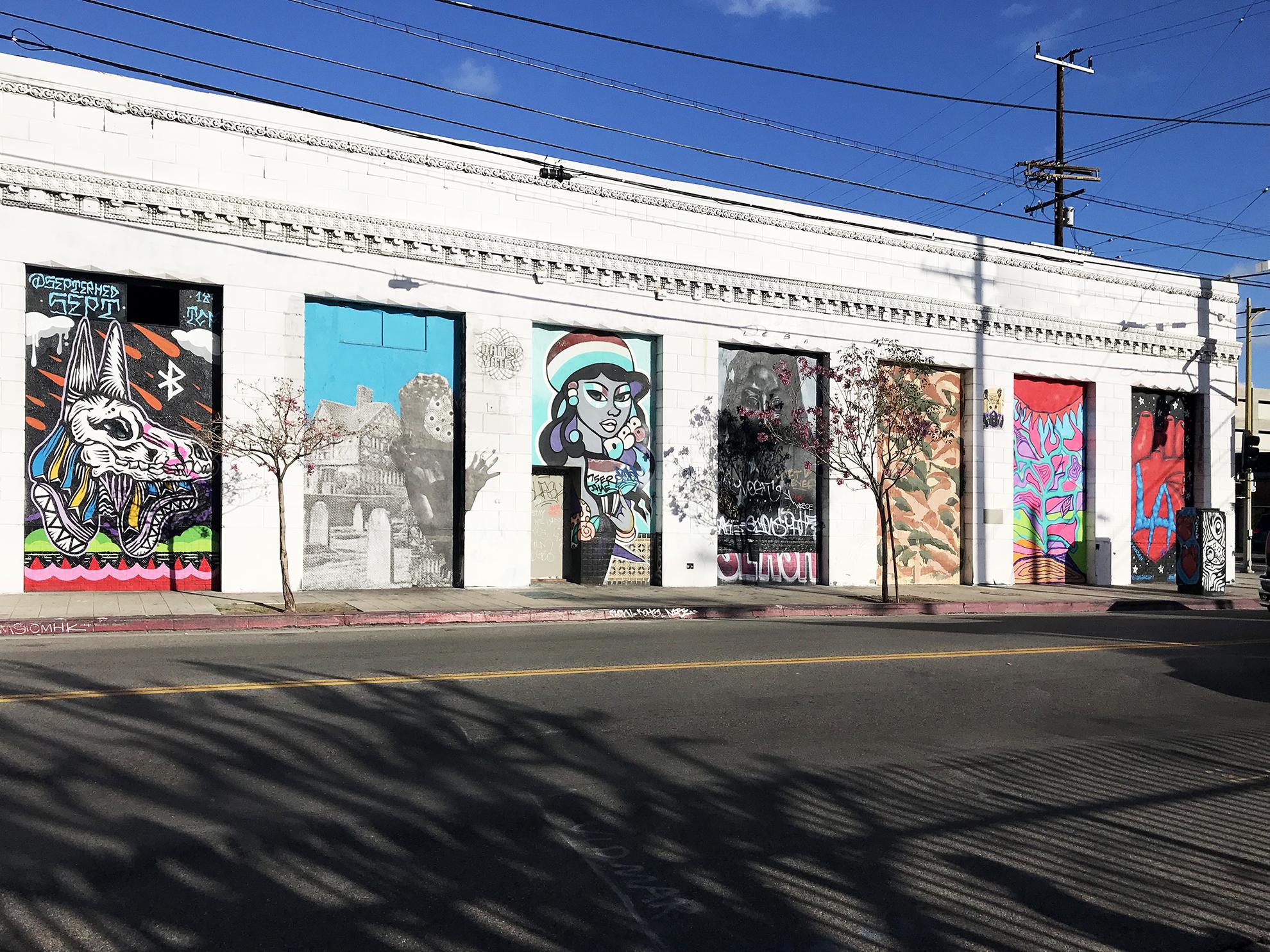 LA arts district - Photo Thomas Bollmann