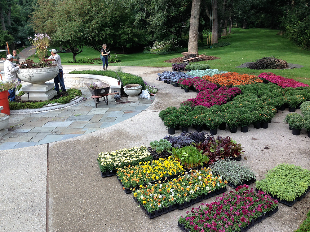 Landscape maintenance in Geneva, IL