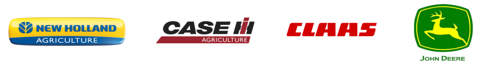 Supplier to Official Dealers of Case IH, New Holland, John Deere, AGCO and Claas.