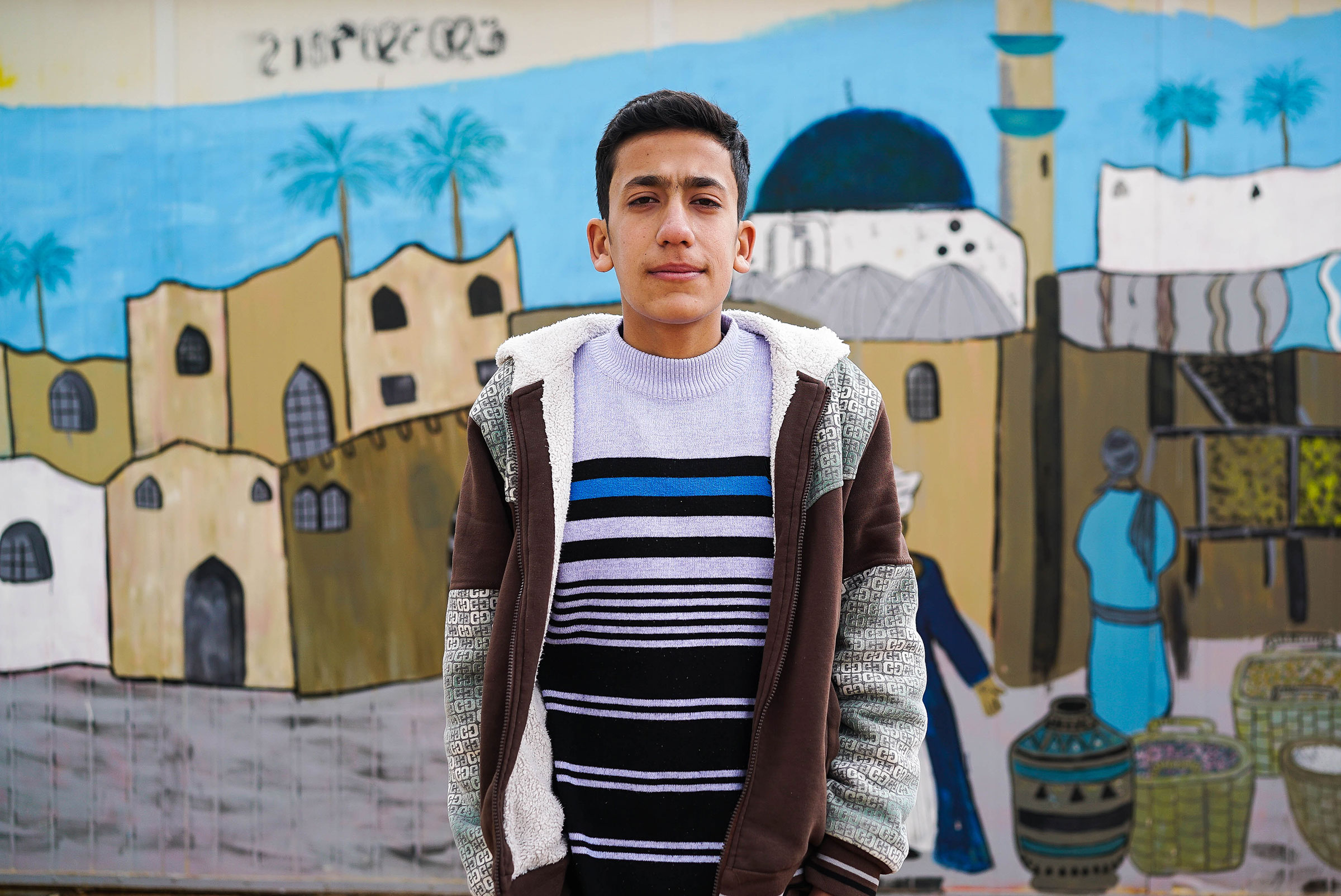 Dreaming in Za'atari - In Jordan's Za'atari refugee camp, explore three Syrian teenagers' hopes and dreams for the future through VR animations that transform the spaces around them.