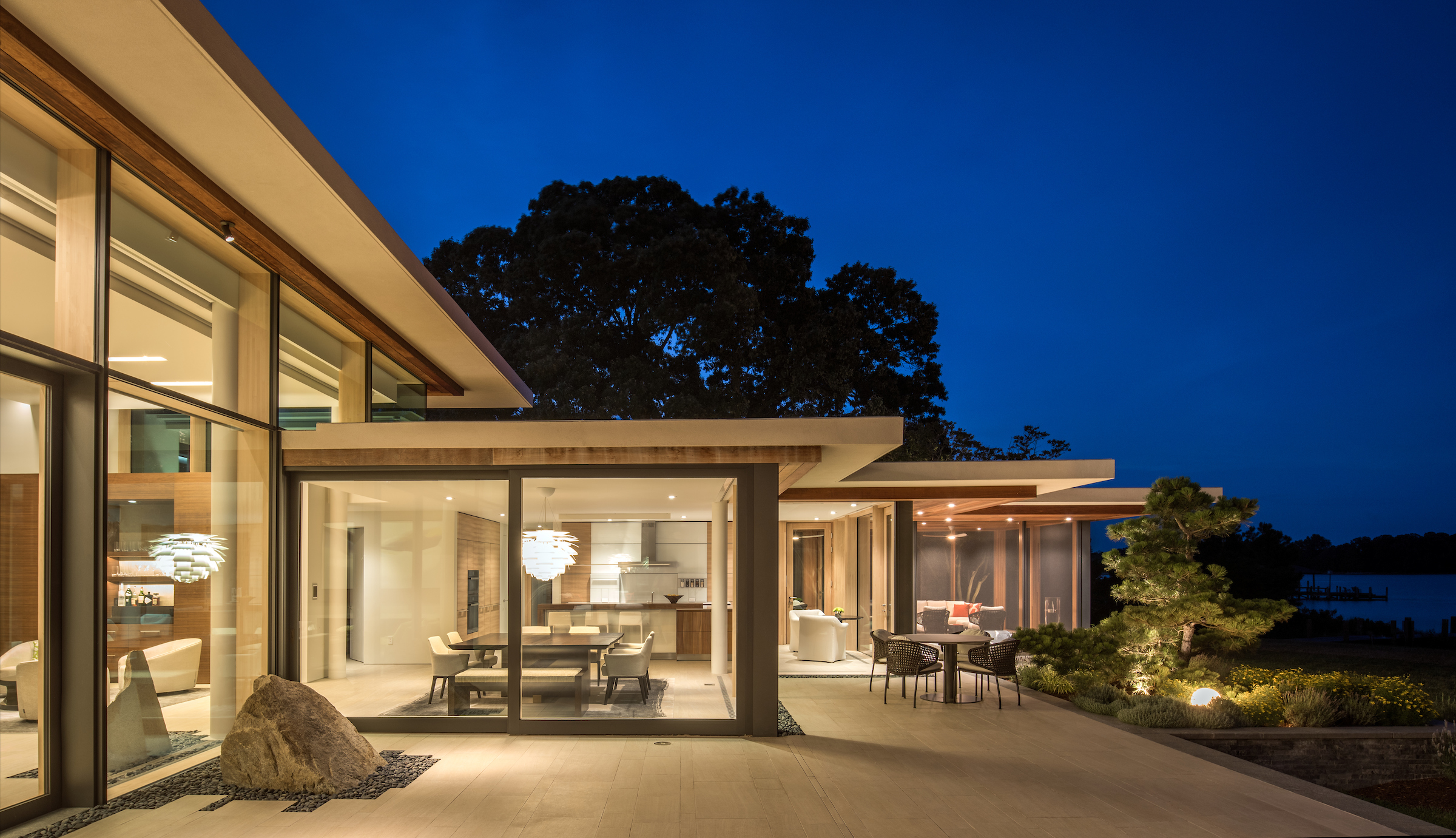 """Transparent by Design   """"A local waterfront project by architect Randall Kipp of Irvington is featured in the March/April 2018 edition of Home & Design Magazine."""" Read More   »"""
