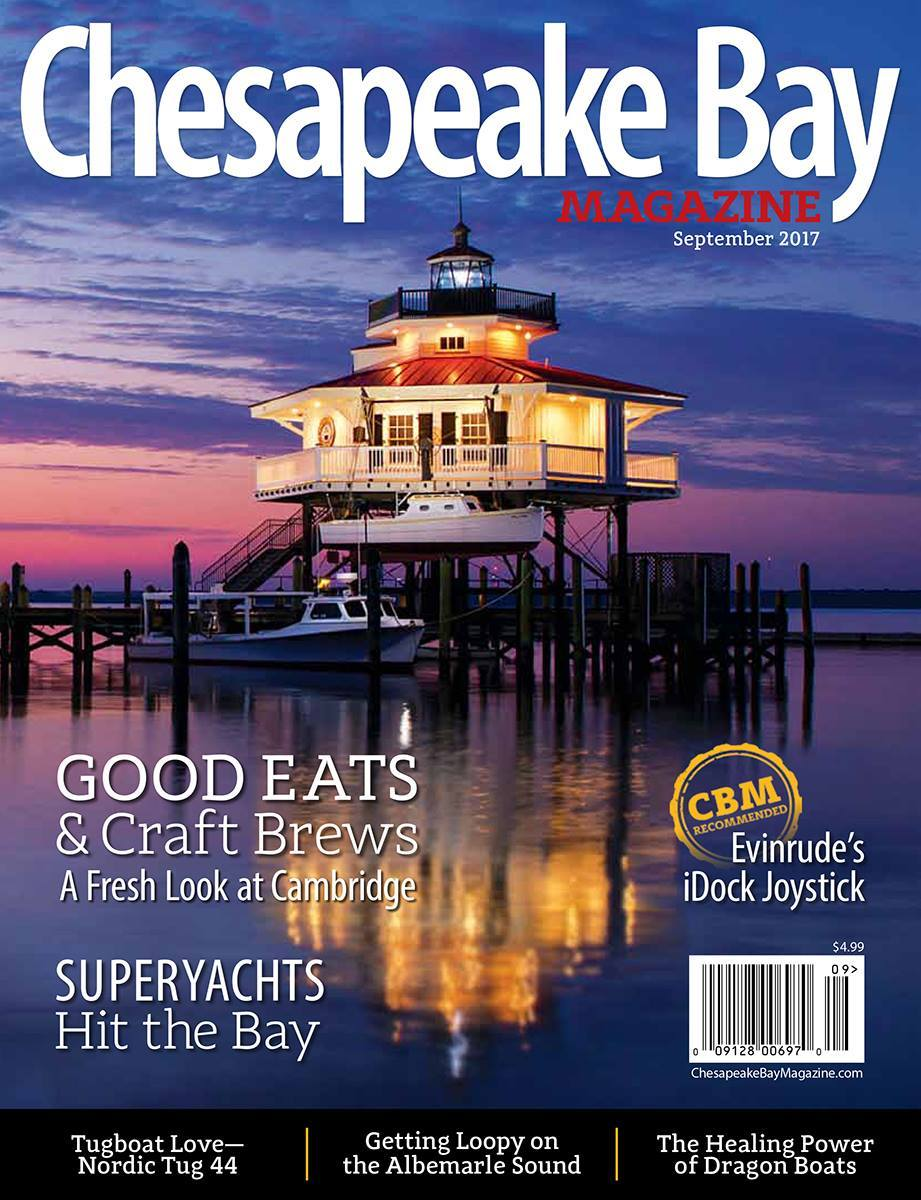 September 2017 Chesapeake Bay Magazine Feature