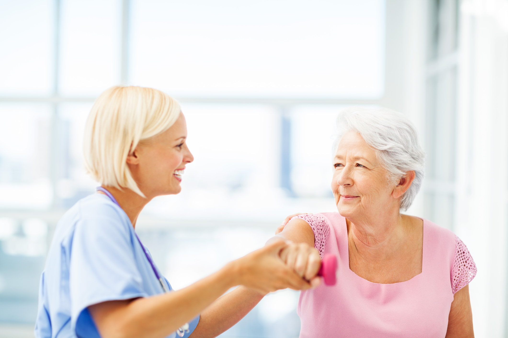 We'll Get You Home - Specialized long and short-term care performed by a highly trained and compassionate staff with your health and comfort as their number one priorities.