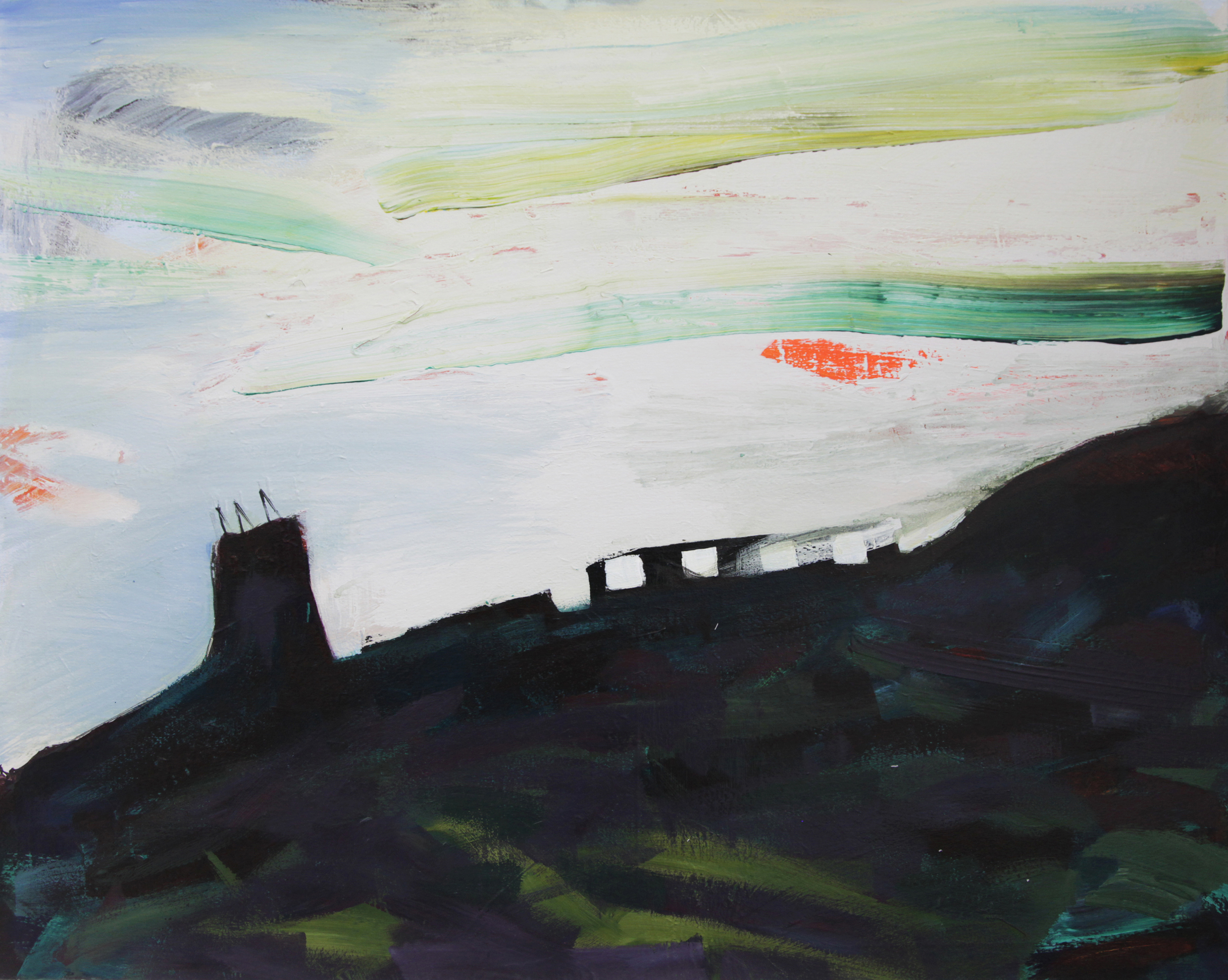 Chwarel Penmaenmawr, Jwls Williams - Oil painting and videoAdded by: Jwls Williams, 2016