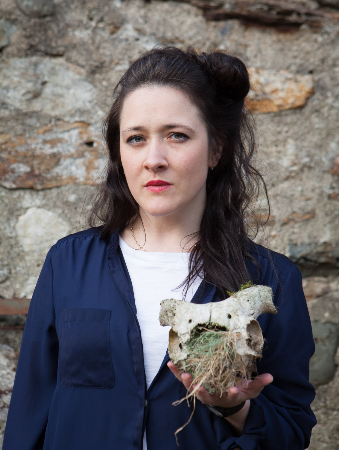 Sam Frankie Fox - Sam is leading our Dinorwig Canu Chwarel Singing Slate workshop. She specialises in exploring the full range of the human voice in a playful, approachable way.