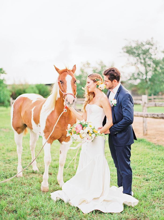 Michelle-March-Photography-Wedding-Photographer-Miami-Florida-Orlando-Horses-Farm-Vintage-Film-Citrus-Peonies-Barn-3-8