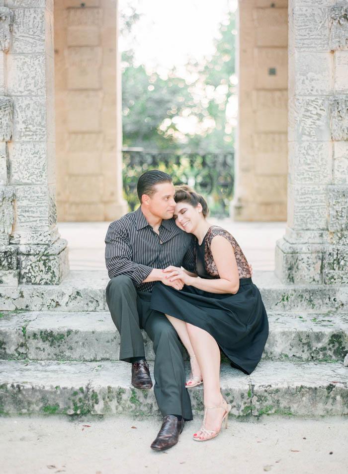 Michelle-March-Photography-Miami-Photographer-Vizcaya-Museum-Gardens-Engagement-Romantic-Vintage-Film-7