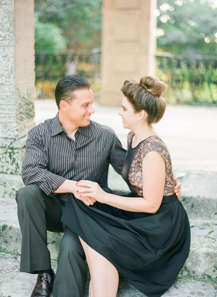 Michelle-March-Photography-Miami-Photographer-Vizcaya-Museum-Gardens-Engagement-Romantic-Vintage-Film-8