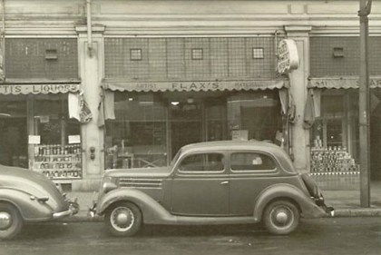 1938 Flax's first location at 437 Kearny Street