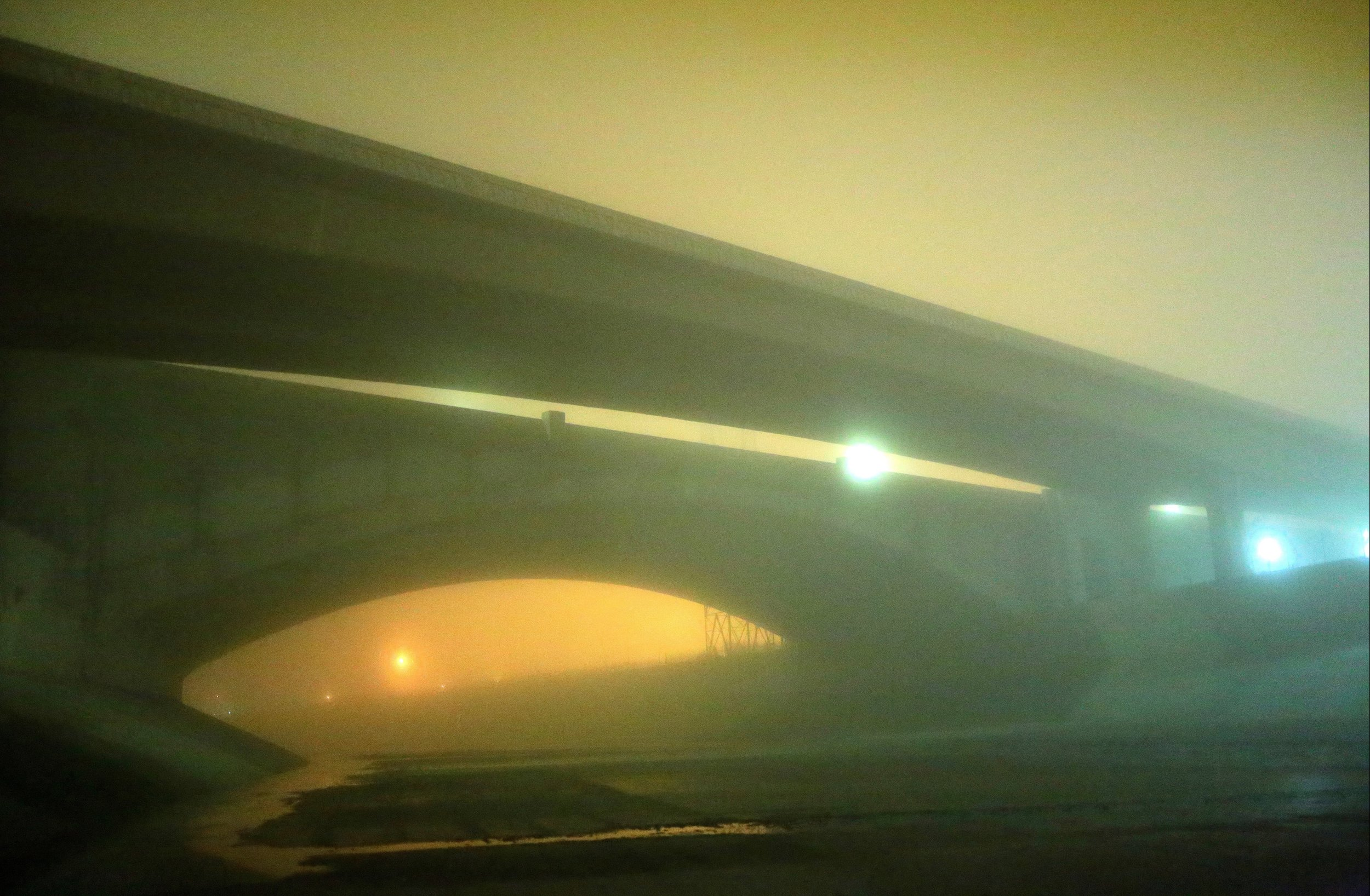 101 freeway and Aliso Street bridge