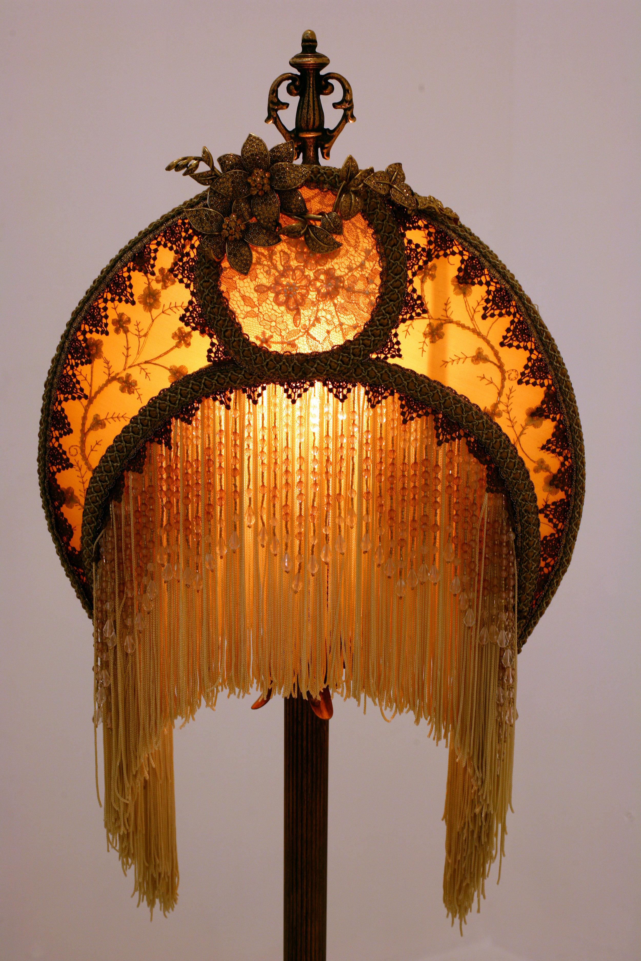 Antique lamp beautiful home decor