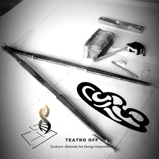 TEATRO OFF Set Design Department by Evolvere Abitando . . . #setdesign #props #theater #entertainment #cinema #movies #designing #drawing #tolls #artisan #artwork #artadvisor #losangeles #venezia #london #mastercraft #oldschool