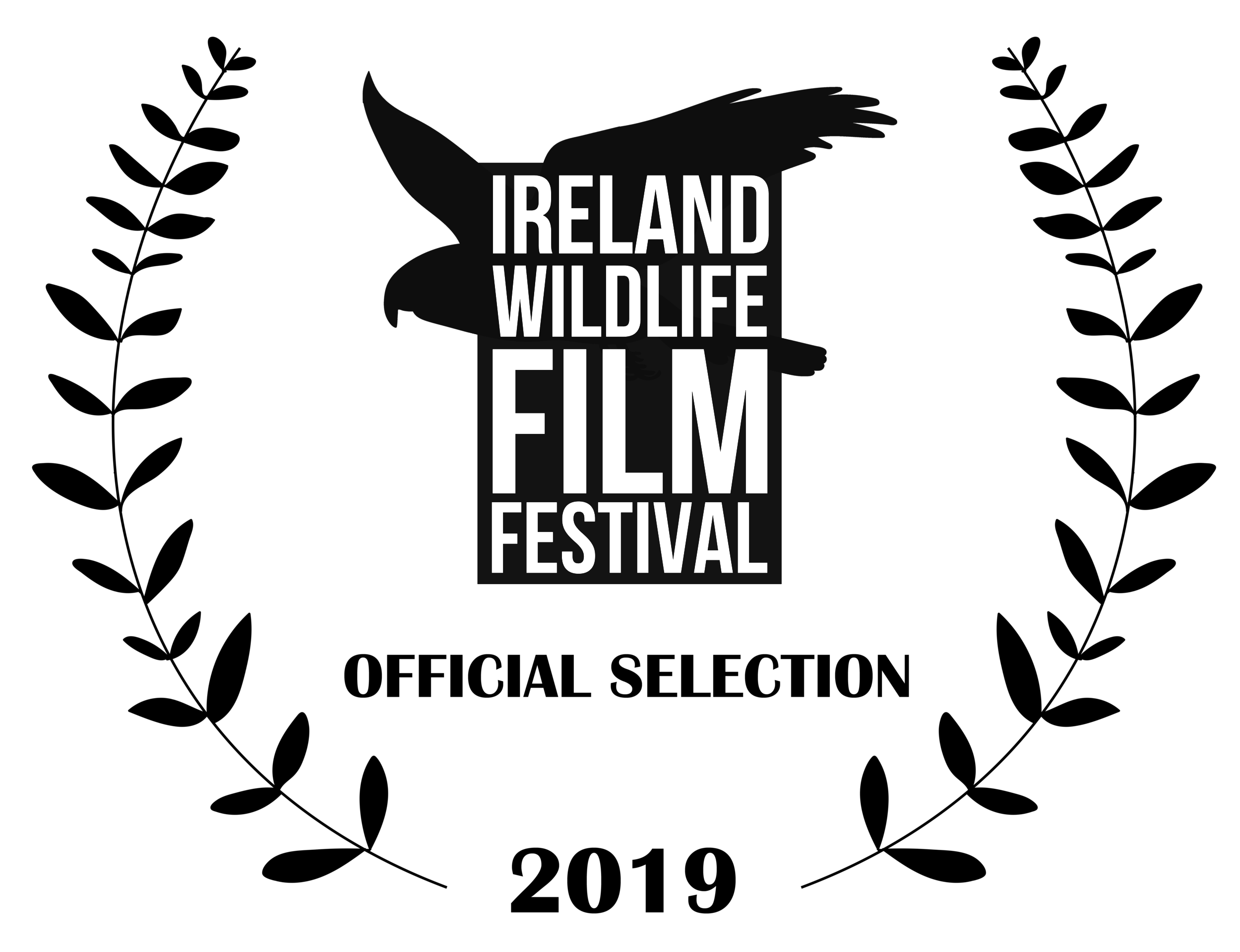 Ireland Wildlife Film Festival Black Laurel.png