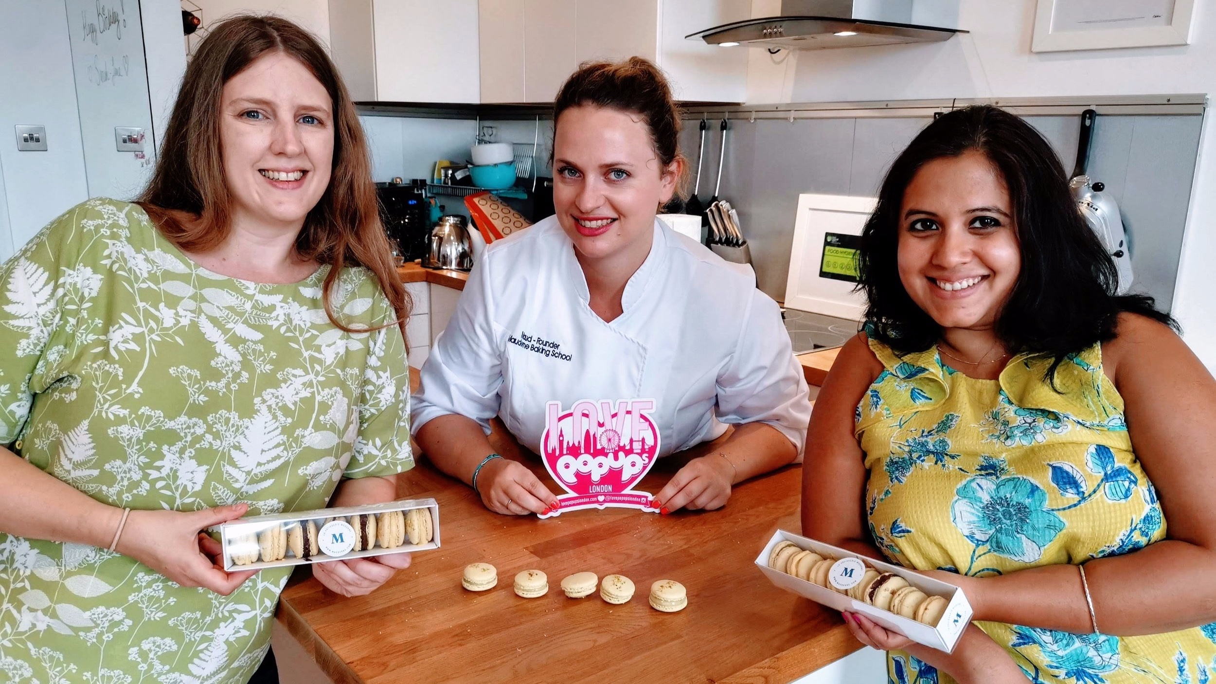 Happy customers at Baking Class in London