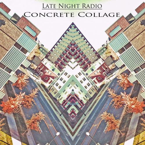 late night radio | Concrete collage | 2012