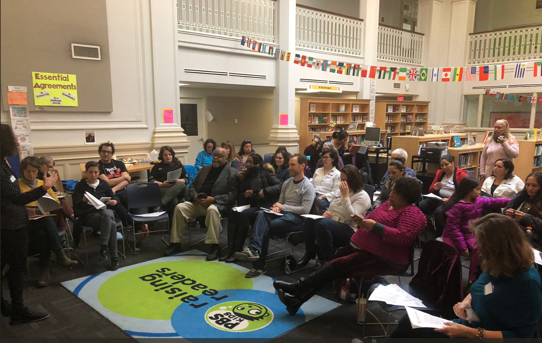 Shaw-Banneker discussion at the Ward 1 Education Council Meeting