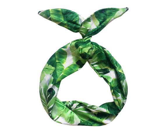 Palm Leaf - Wire headband