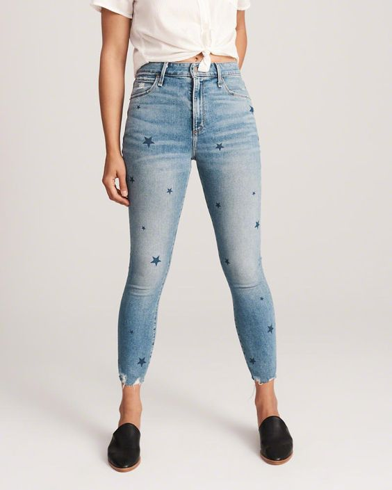 High Rise Ankle Jean -
