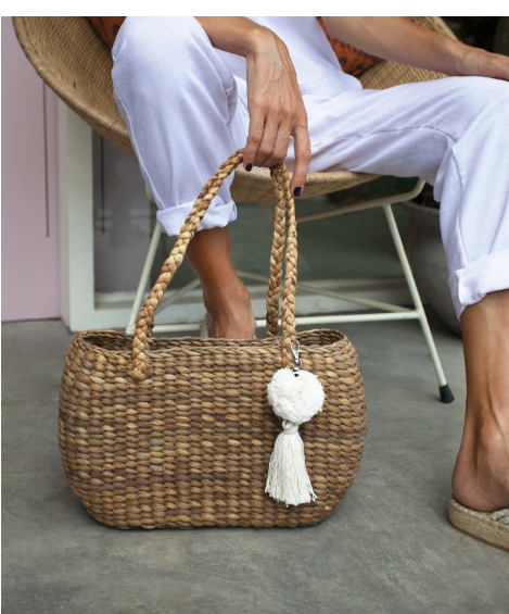 Noosa Palm - Basket bag