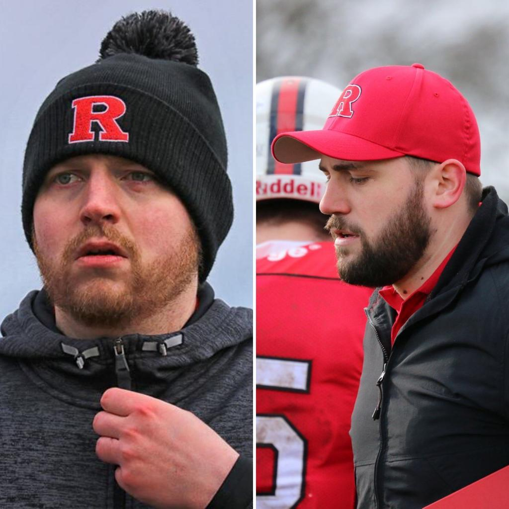 Coaches Nathan Morrice (left) and Matthew Watt (right), both join the Roughnecks Coaching Staff for the 2019