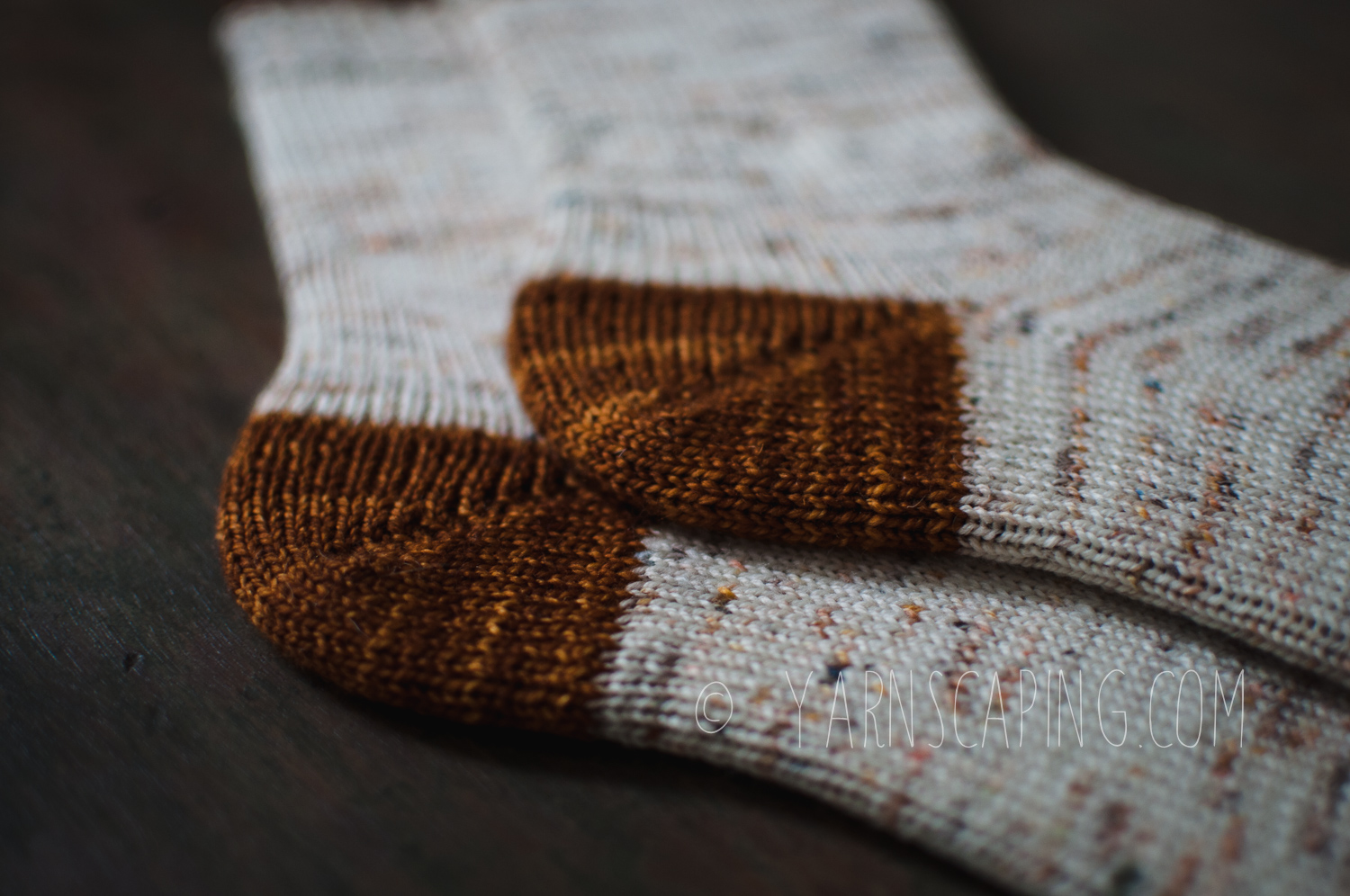 Trying out a new heel can halt all progress on a sock. It's easier to just use  old favorites .