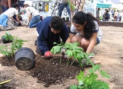 through outdoor classroom education