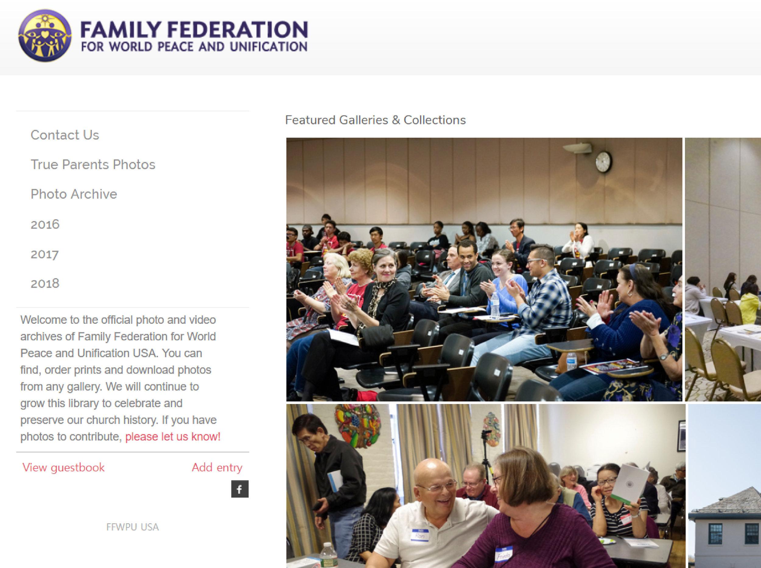 FFWPU Photo Archive