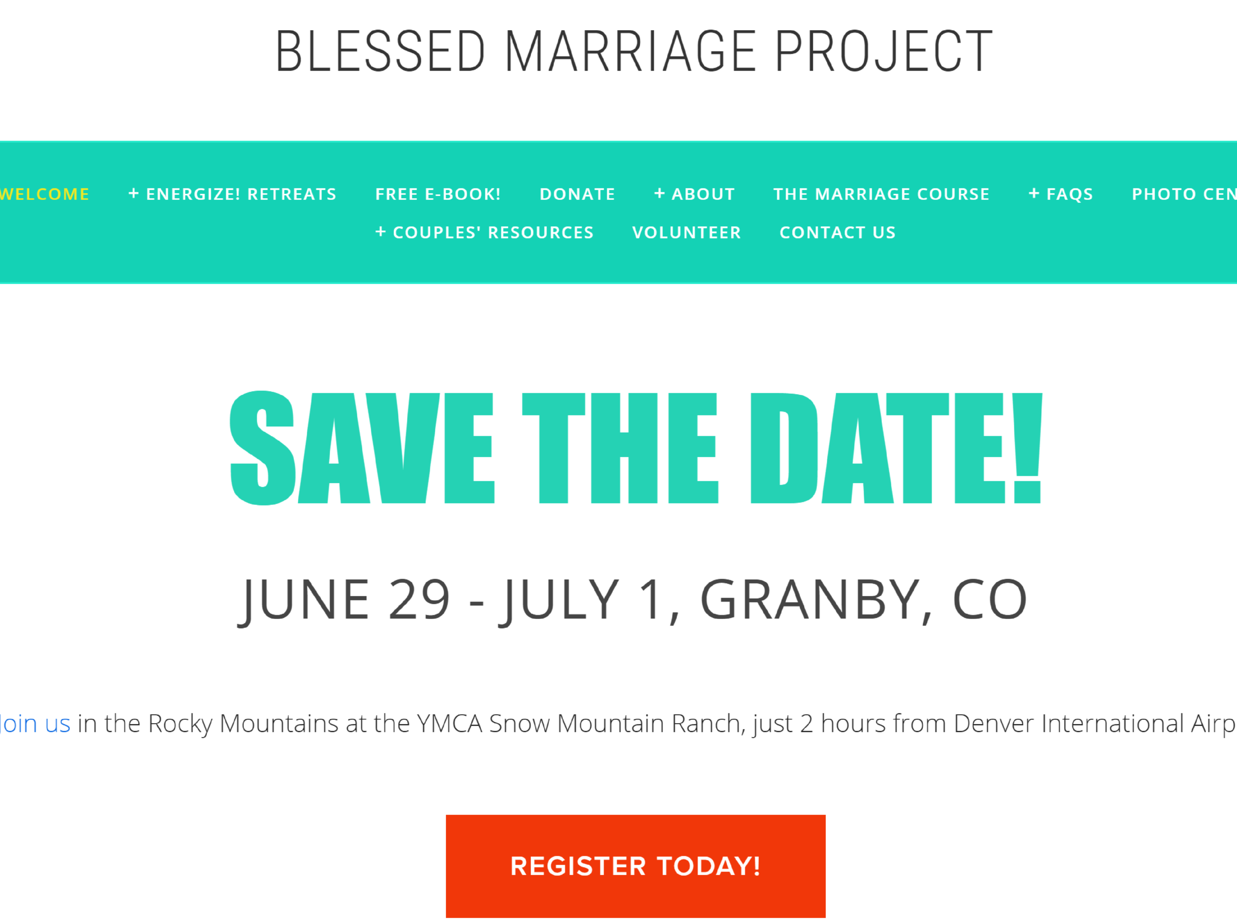 Blessed Marriage Project