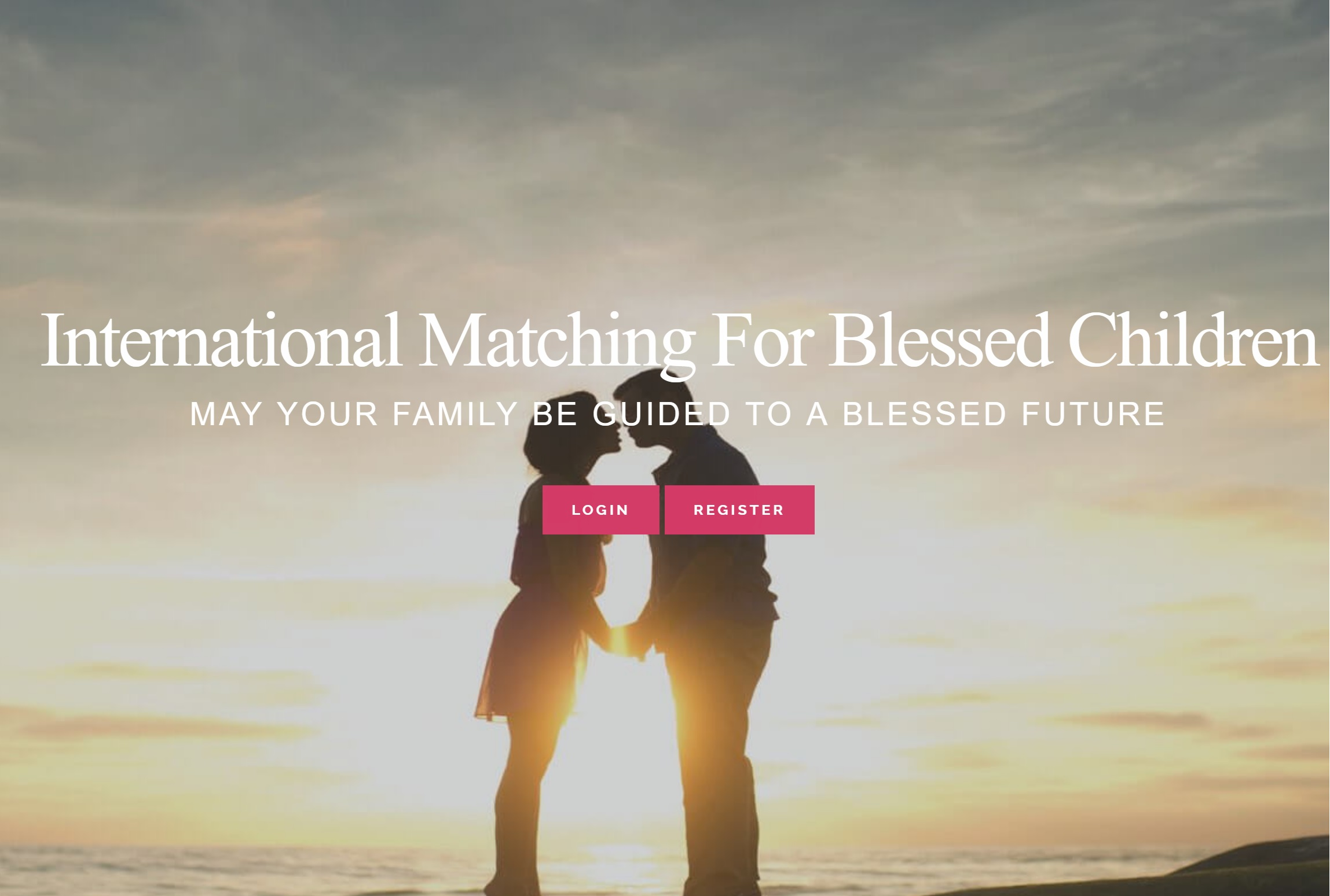 International Matching Website