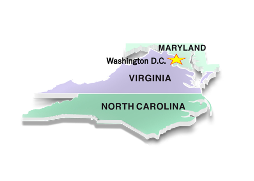 District 1 - Maryland, DC, Virginia, and North Carolina