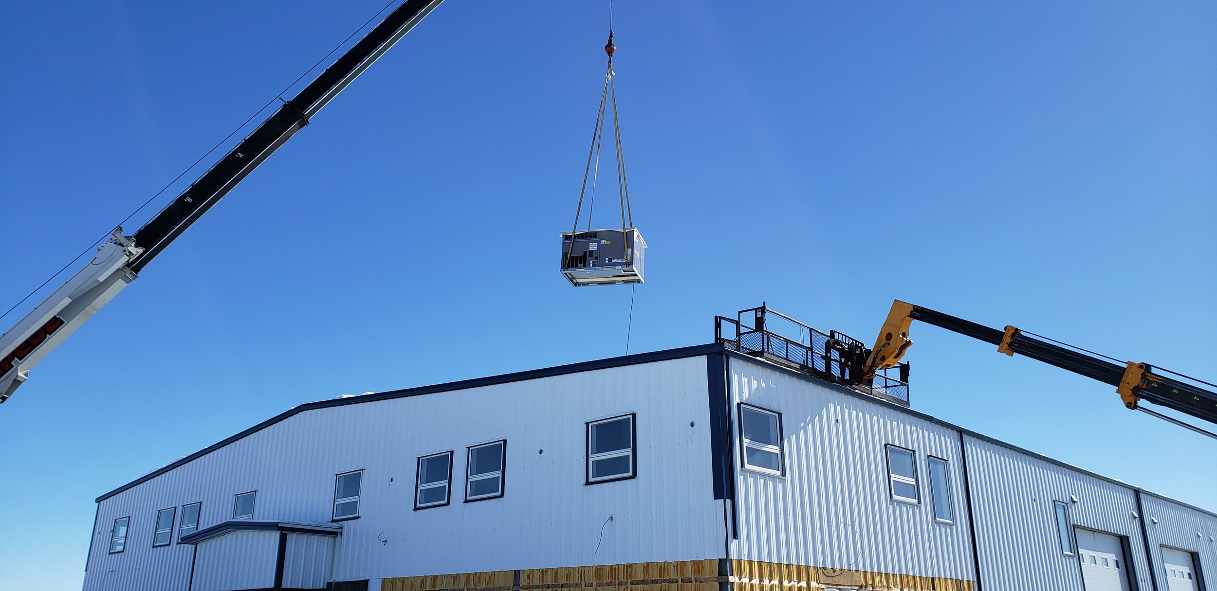 Roof top unit installation