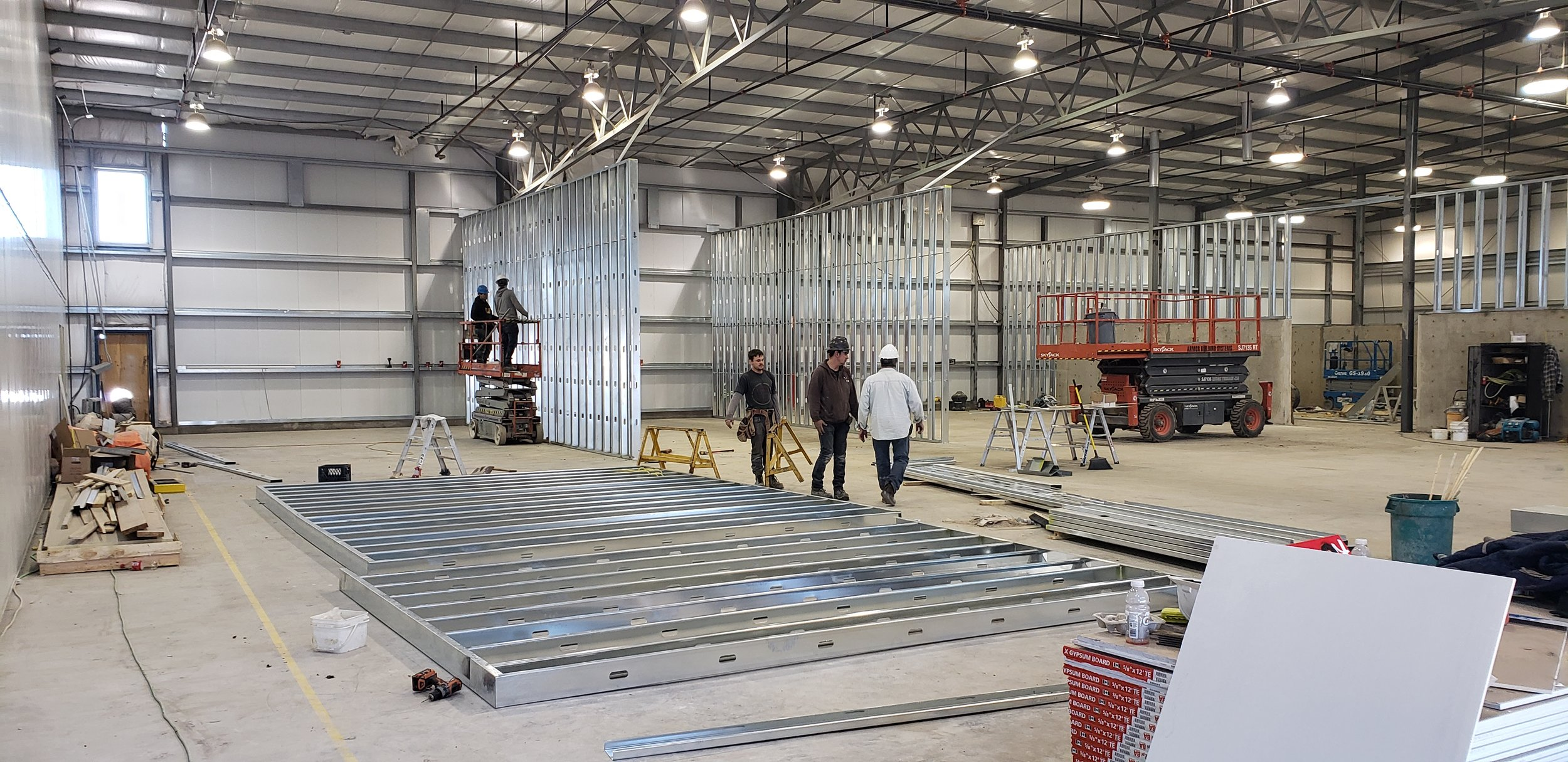 Production area framing