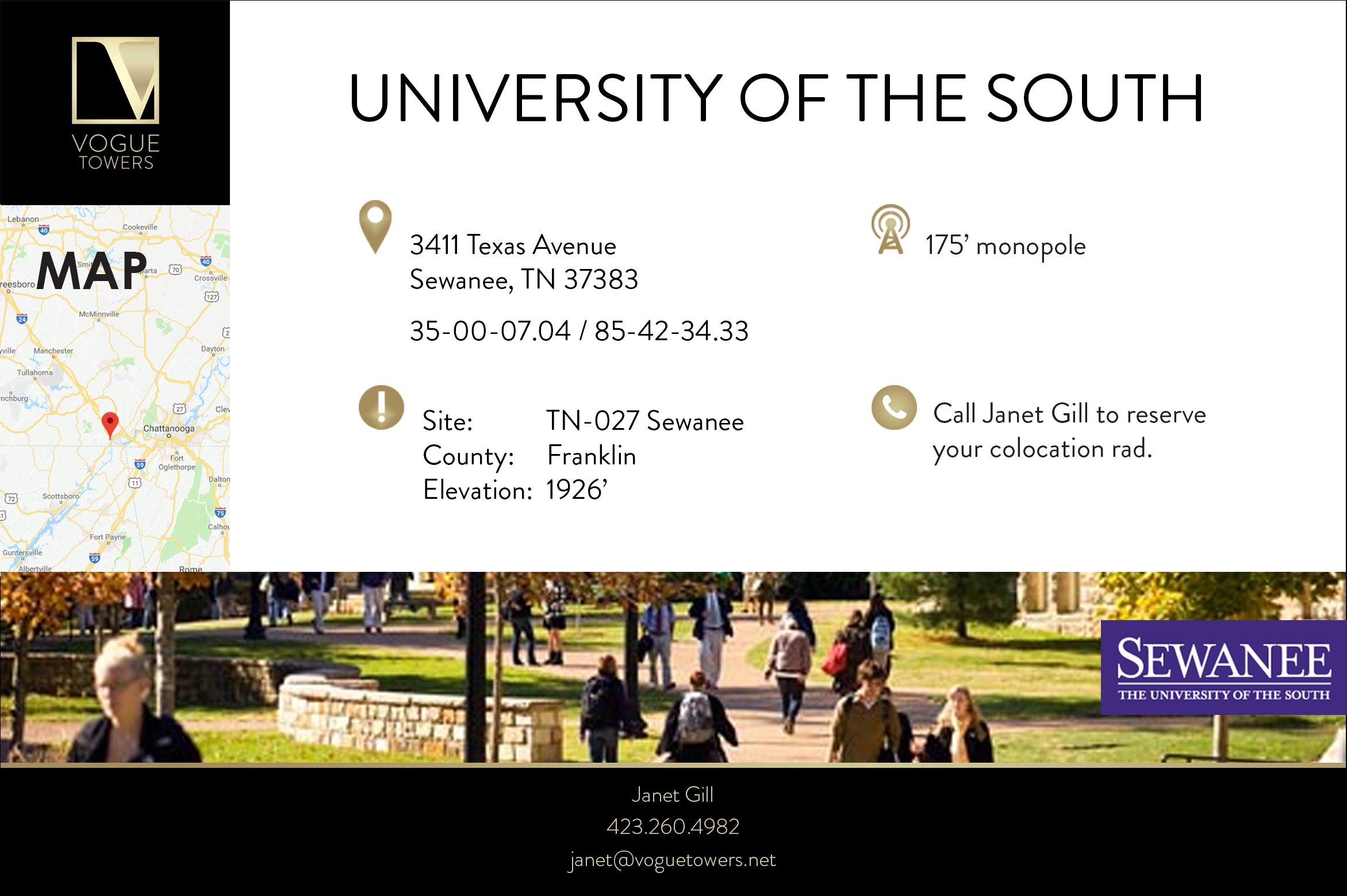 University of the South - Sewanee, TN