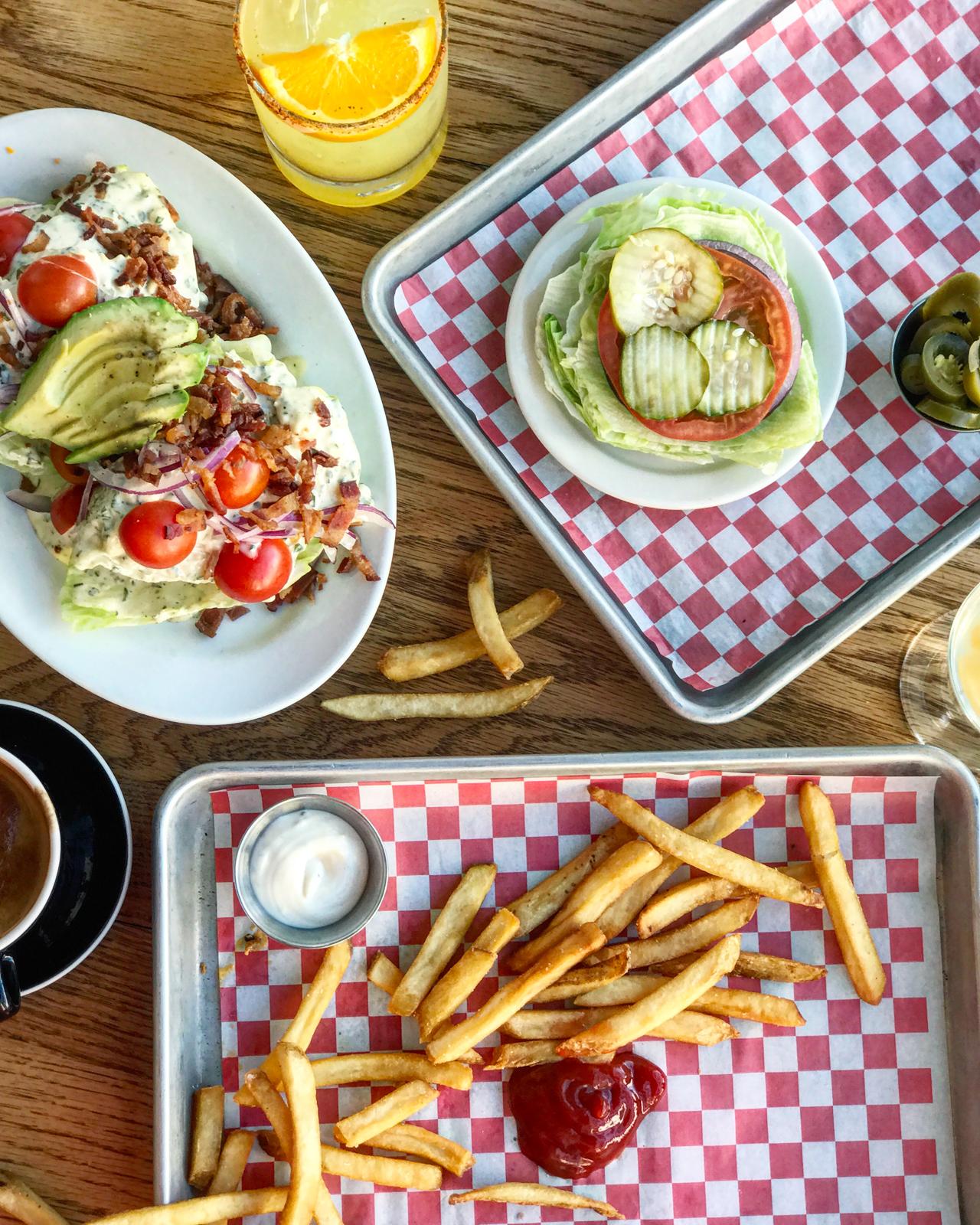 Wedge Salad & Fries