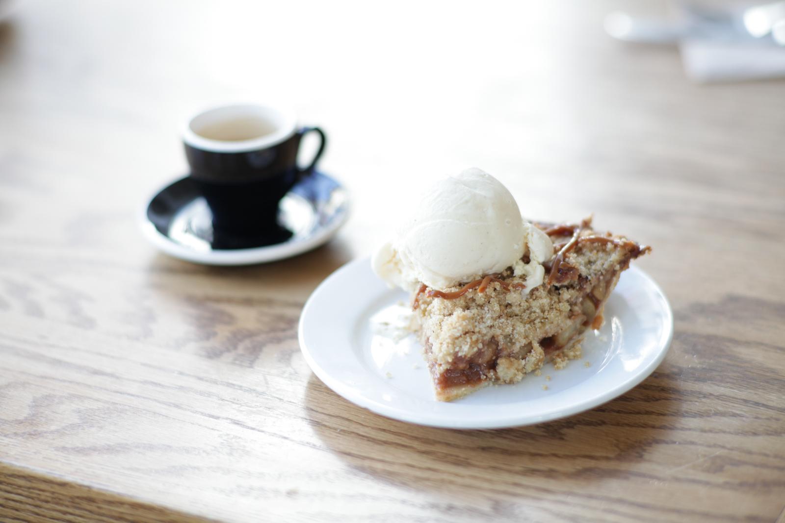 Slice of Pie A La Mode