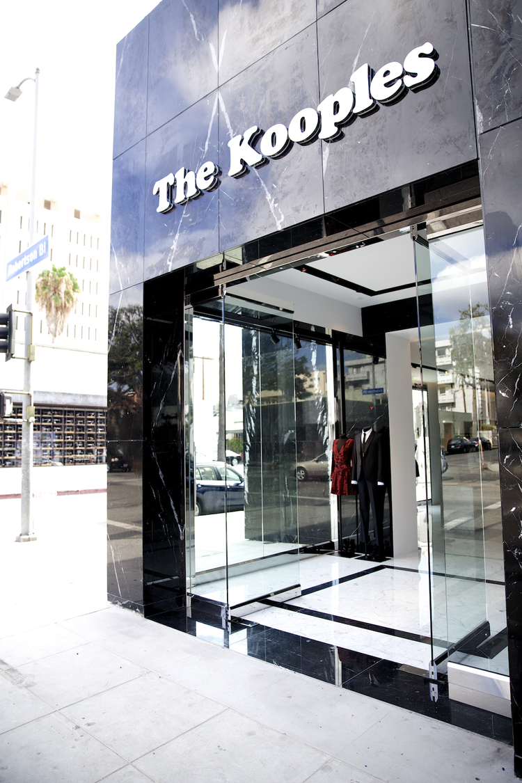THE KOOPLES US LAUNCH