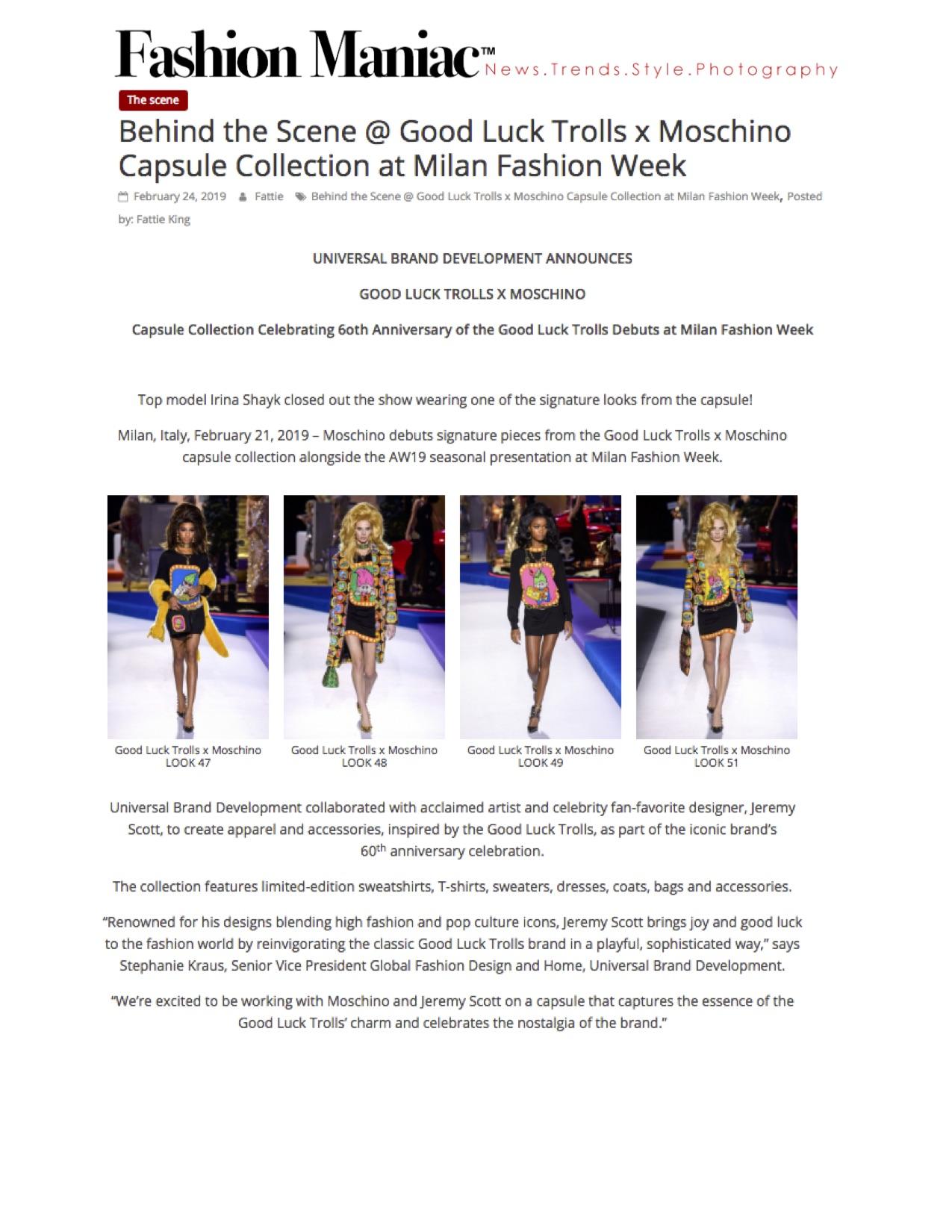 Fashion Maniac - Good Luck Trolls x Moschino.jpg