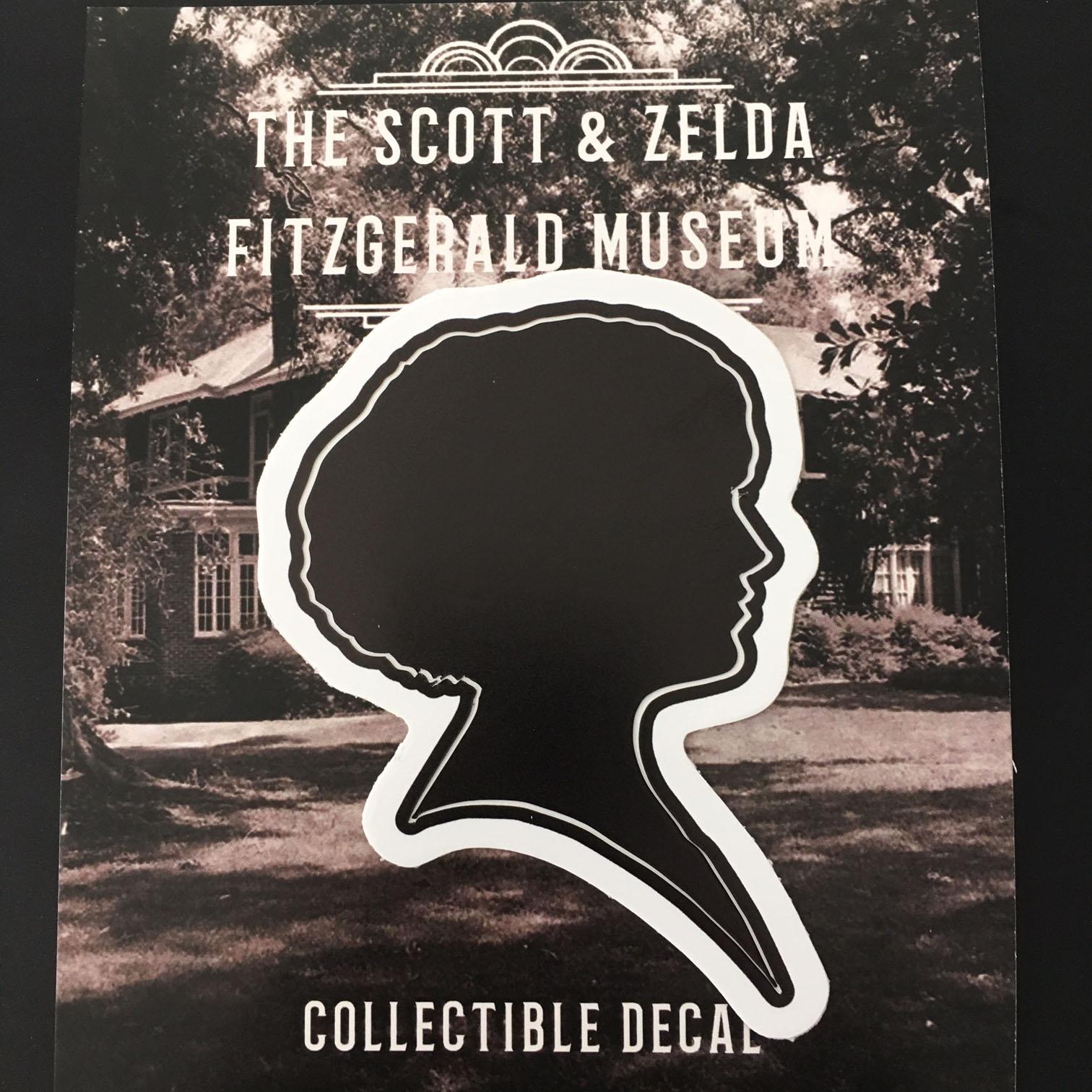 Zelda Silhouette Decal The Scott Zelda Fitzgerald Museum