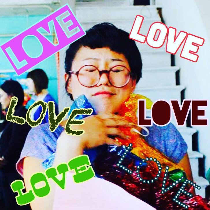 LOVE + LOVE to sparkle-heart & angel Ara Jo, a founding member of RPSC <3