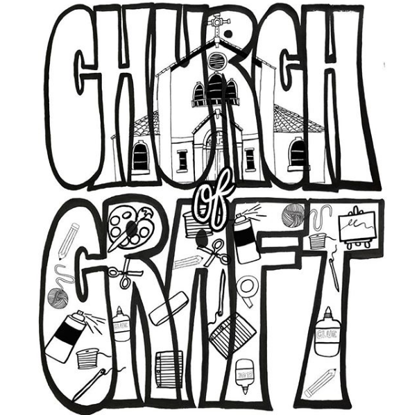 Church of Craft Every 1st & 3rd Saturday of the month from 1-3pm at 416 26th St. Oakland -