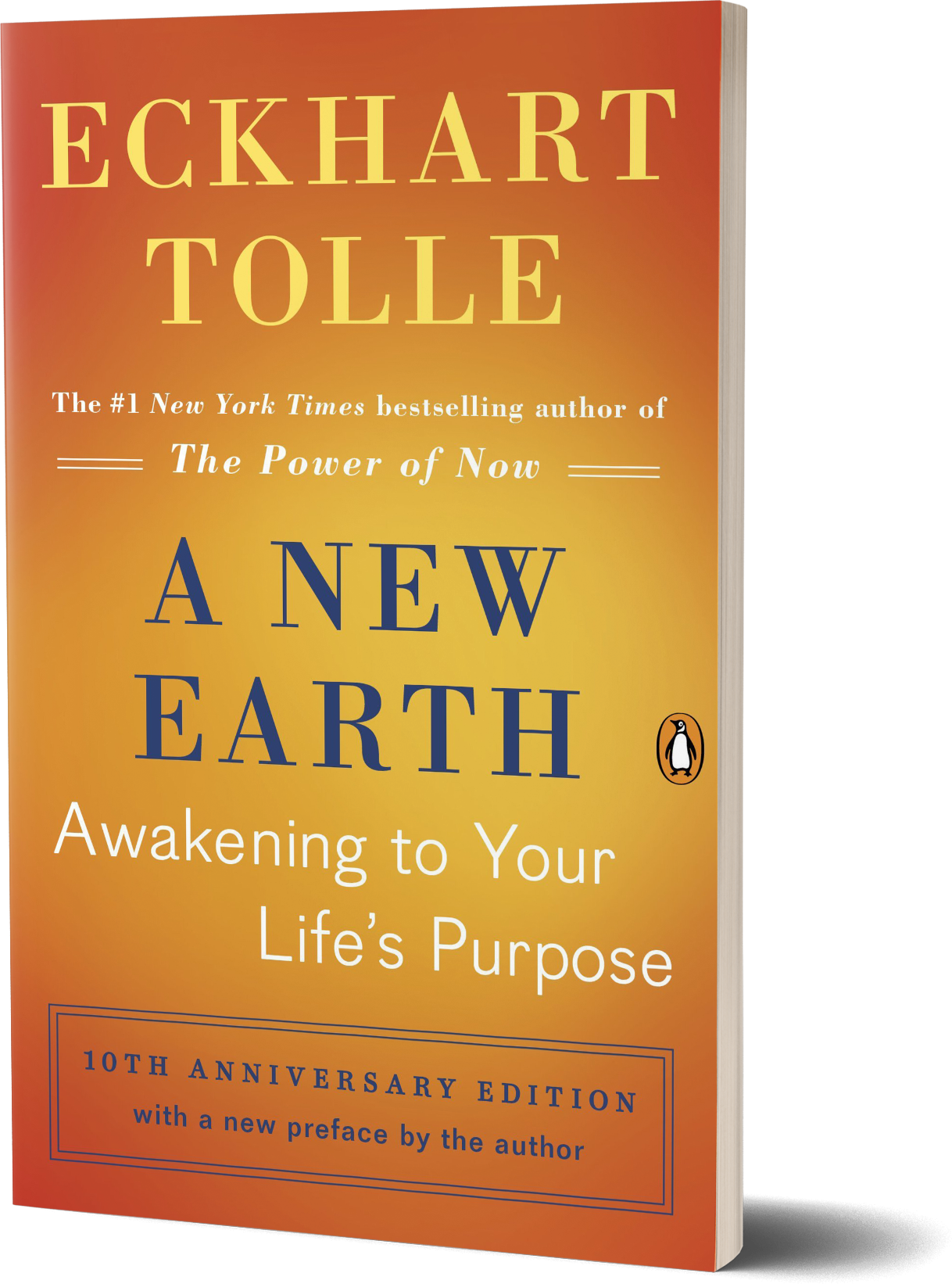 A New Earth- Awakening to Your Life's Purpose by Eckhart Tolle.png