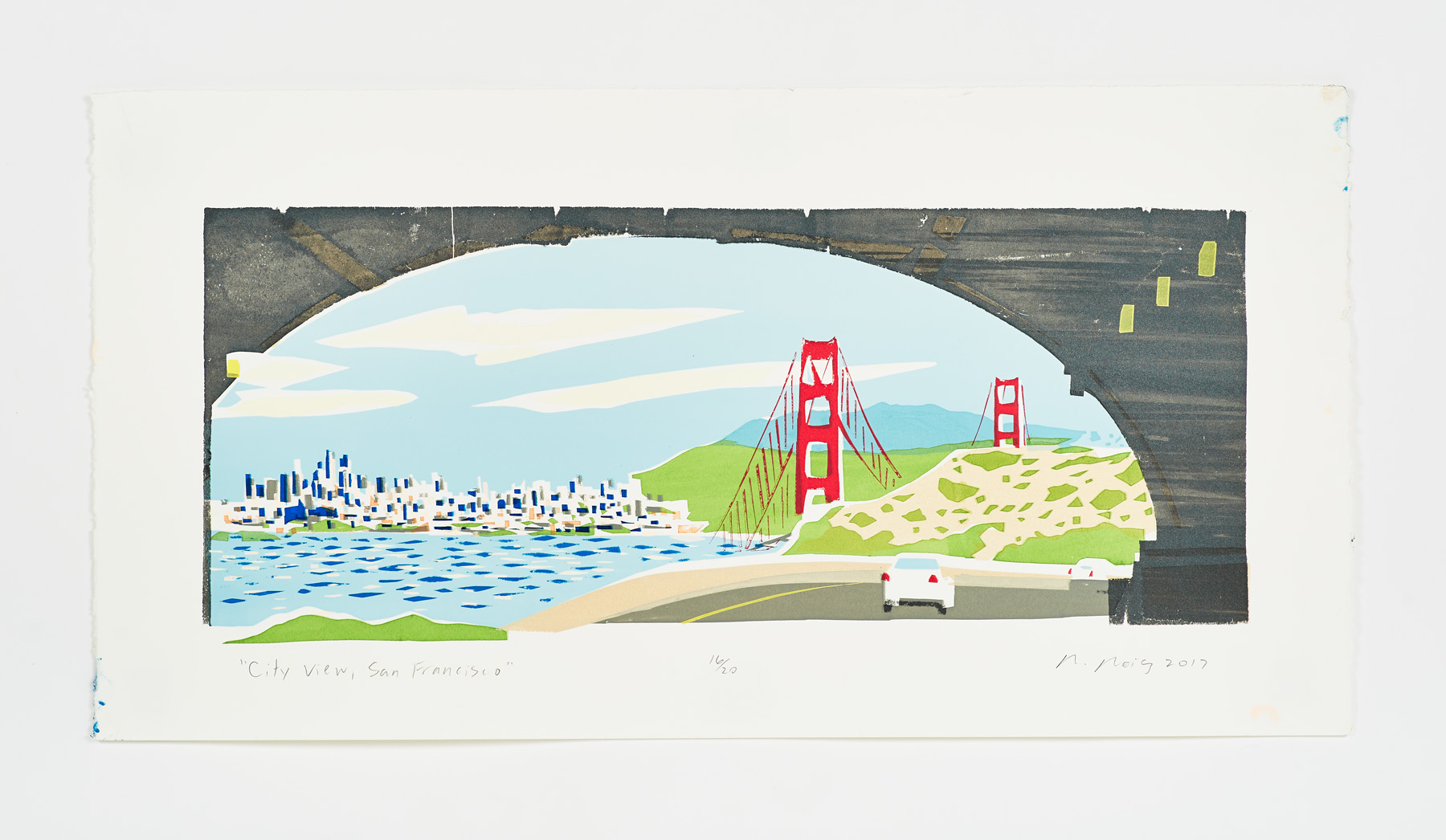 """""""City View, San Francisco"""" 2017"""