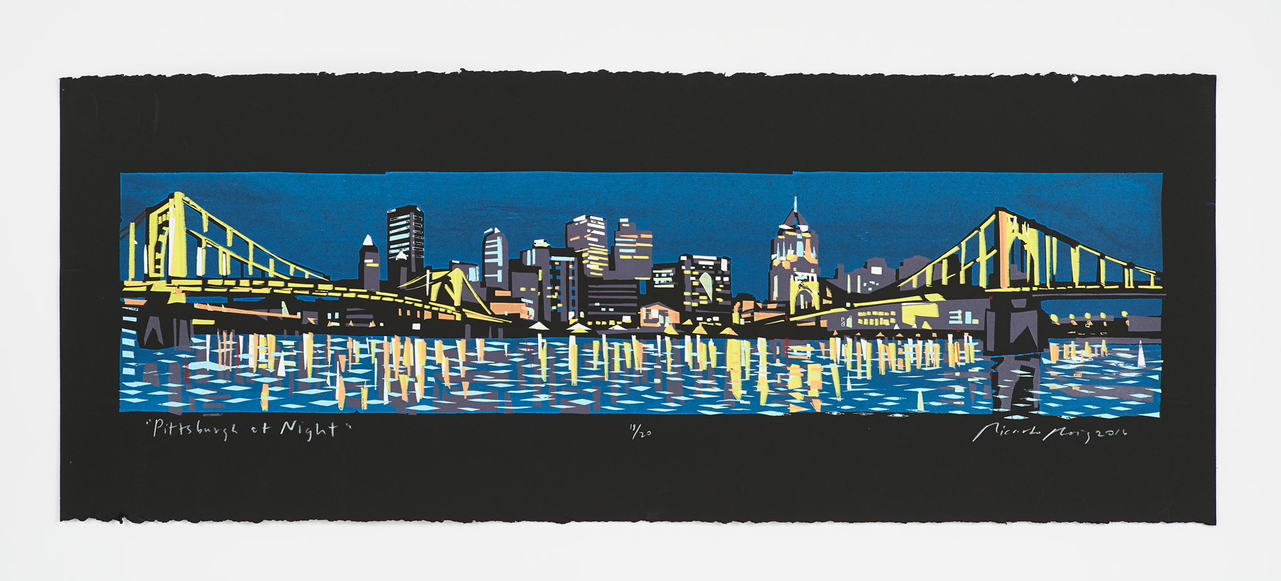 """Pittsburgh at Night"" 2016"