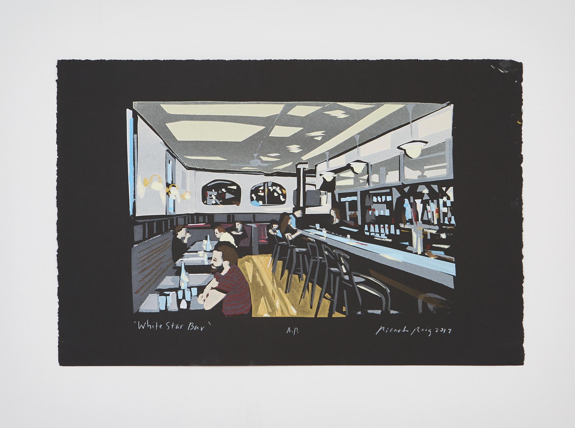 """White Star Bar"" 2017"