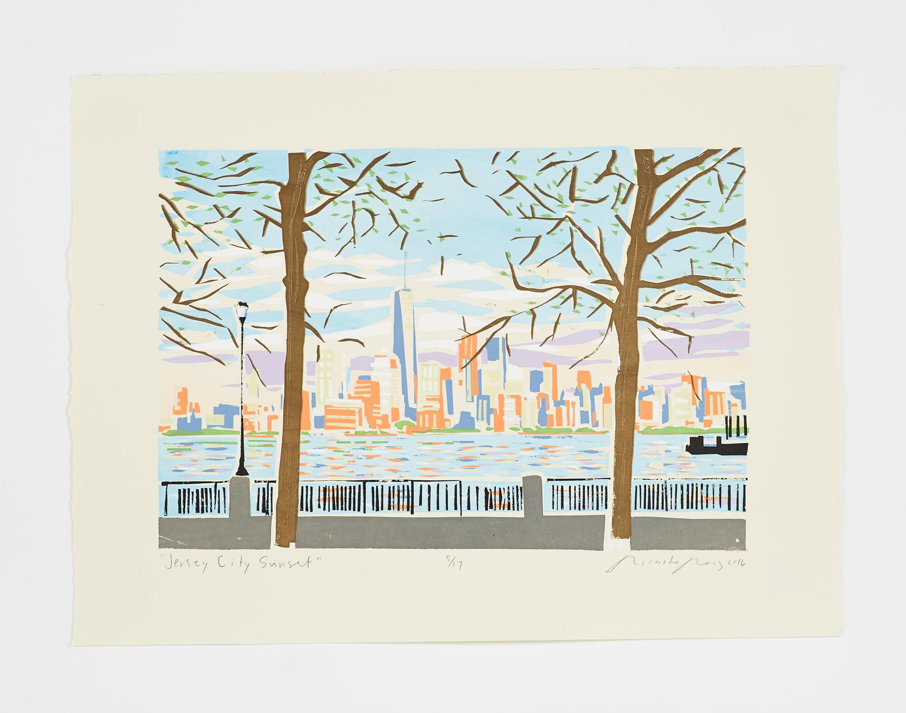 """Jersey City Sunset"" 2016"