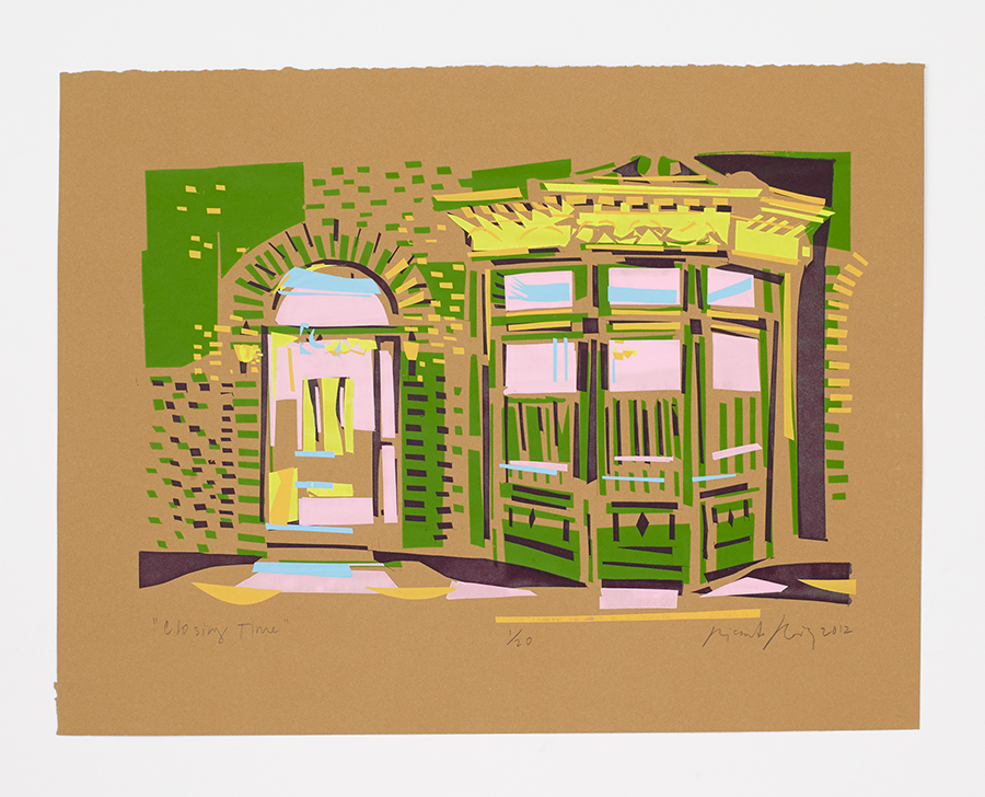 """Closing Time, Elysian Cafe"" 2012"