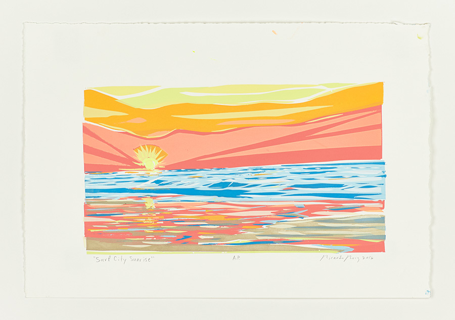 """Surf City Sunrise"" 2016"