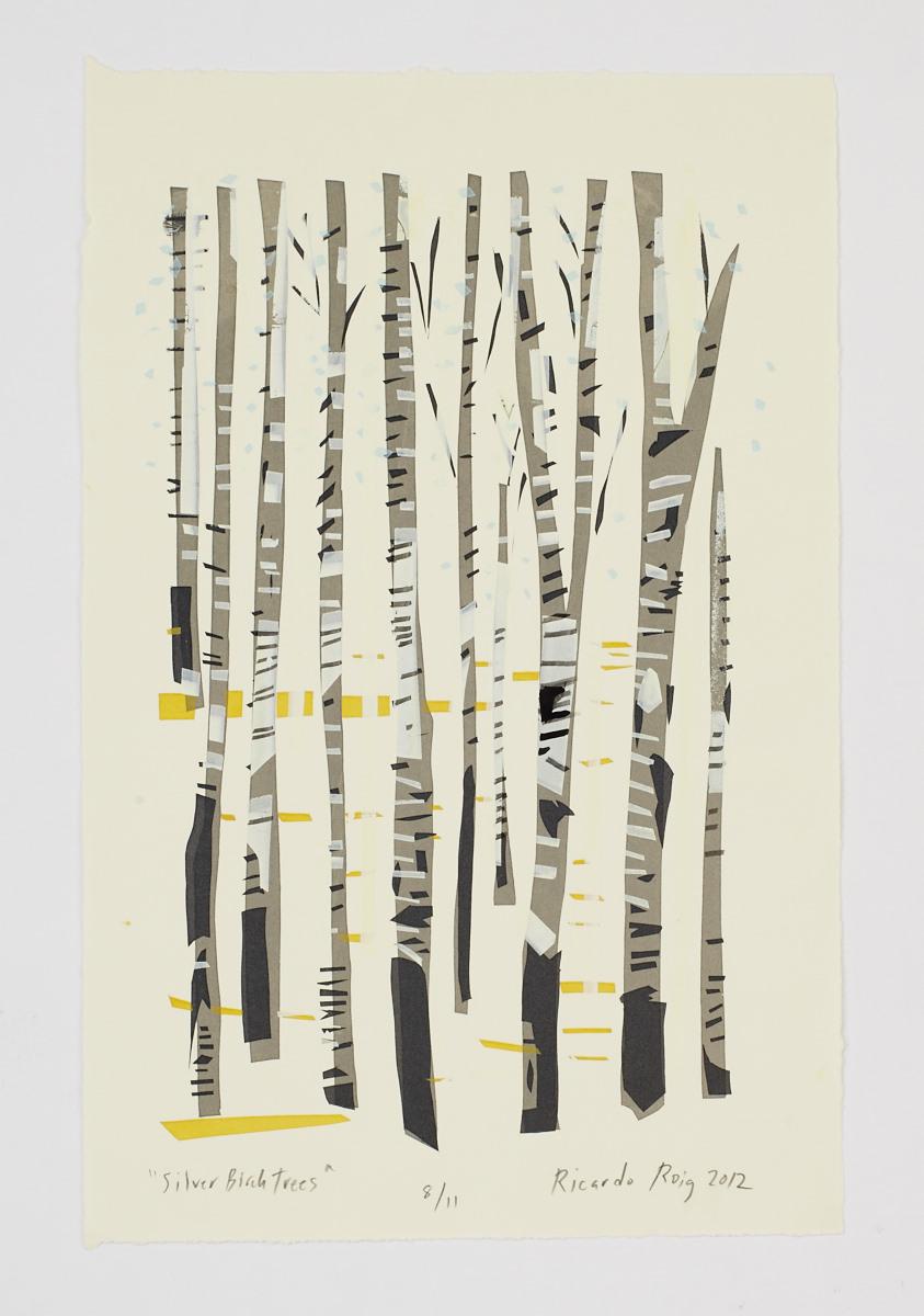 """Silver Birch Trees"" 2011"